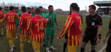 Karaman Tek Golle 3 puanı aldı, Ereğlispor :0 Karamanspor :1