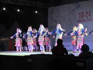 Anadolu folkloru Konya'da buluştu
