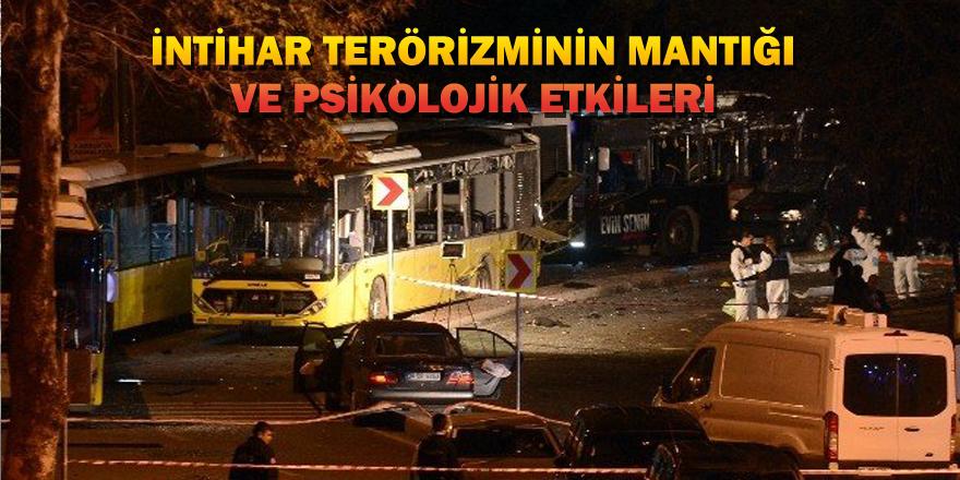 İntihar terörizminin mantığı