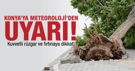Meteorolojiden Kuvvetli Rüzgar ve Fırtına Uyarısı!