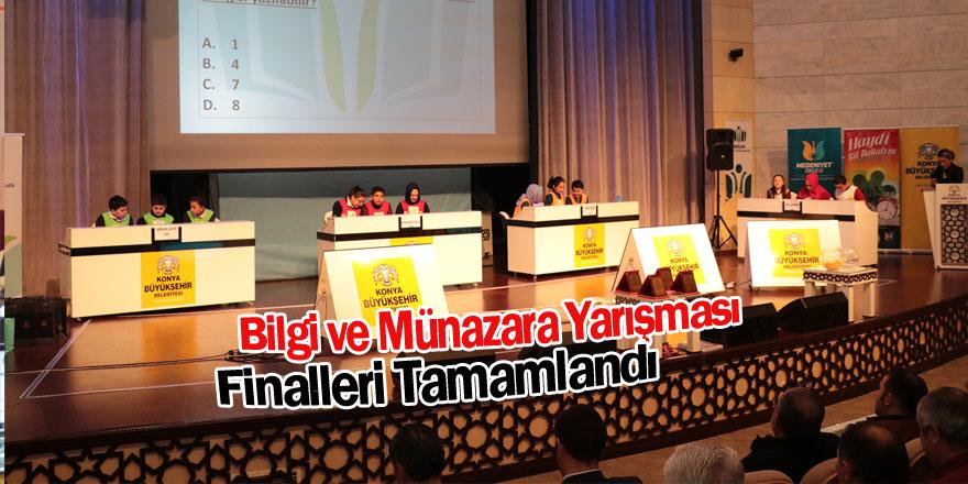 Bilgi ve Münazara Yarışmalarının İlçe Finalleri Tamamlandı