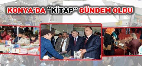 """Konya'da """"Kitap"""" Gündem Oldu"""