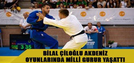 Bilal Çiloğlu Akdeniz Oyunlarında Milli Gurur Yaşattı