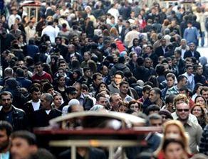 Türkiye nüfusu 2050de 95 milyon olacak