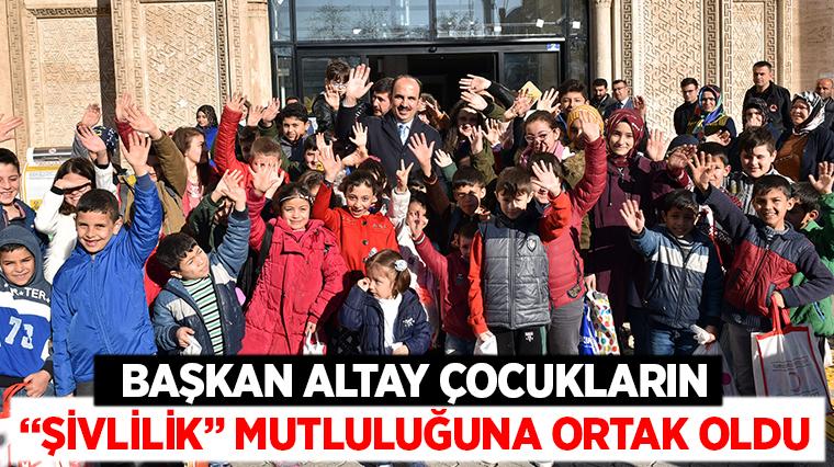 """Başkan Altay Çocukların """"Şivlilik"""" Mutluluğuna Ortak Oldu"""