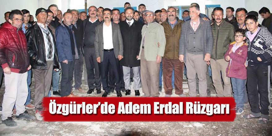 Özgürler'de Adem Erdal Rüzgarı