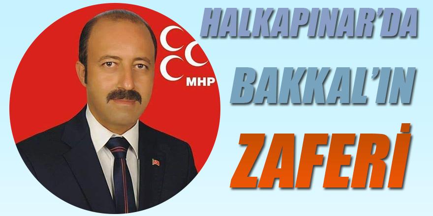 Halkapınarda  Cumhur İttifakı MHP adayı Mehmet Bakkal Kazandı