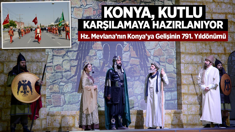 Konya, Kutlu Karşılamaya Hazırlanıyor