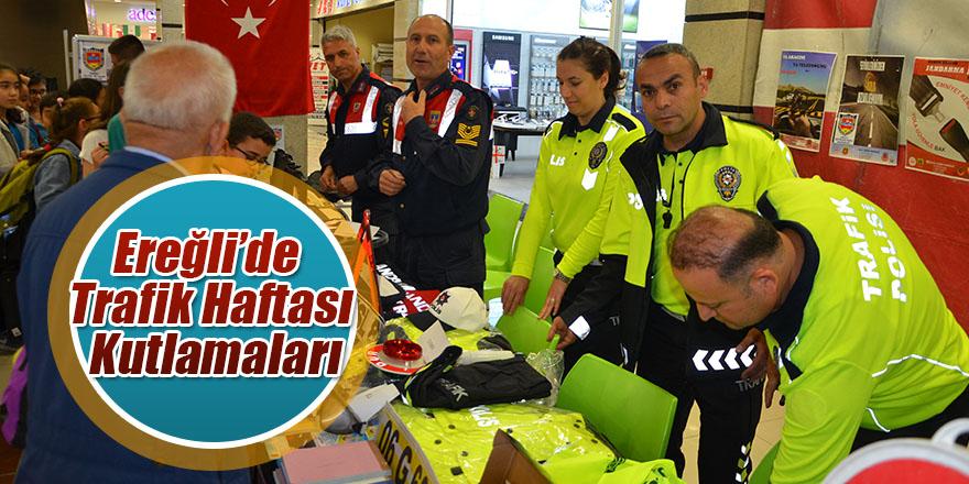 Ereğli'de Trafik Haftası Kutlamaları