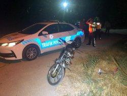 Motosiklet Bahçeye Uçtu: 2 Yaralı