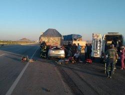 Düğün dönüşü kaza 6 yaralı