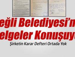 Ereğli'nin Gündemi Kayıp Karar Defteri!