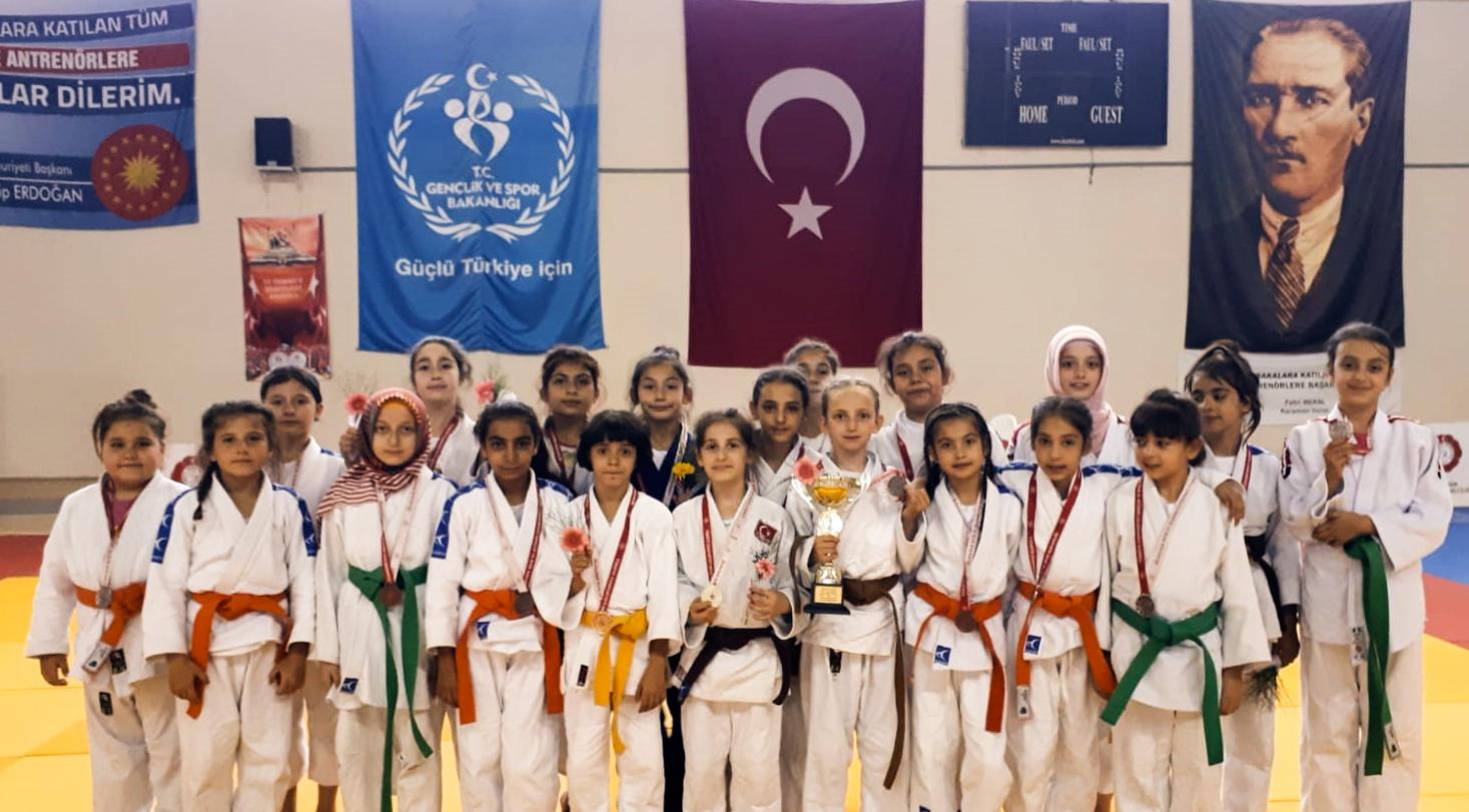 Judocularımızdan Dört Dörtlük Başarı