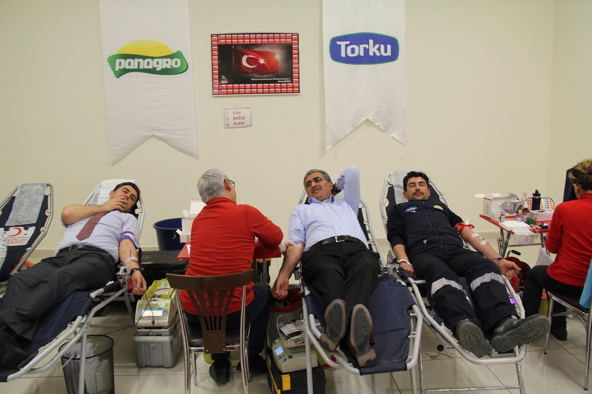 Konya Şeker'de Yüksek Katılımlı Kan Bağışı Kampanyası Yapıldı