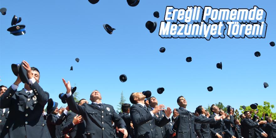 Ereğli POMEM'de mezuniyet coşkusu