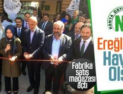 DSYB Ereğli'de Fabrika satış mağazası açtı
