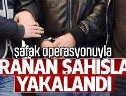 POLİSİN ŞAFAK OPERASYONUNDA 3 KİŞİ ELE GEÇİRİLDİ