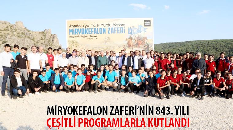 Miryokefalon Zaferi'nin 843. Yılı Çeşitli Programlarla Kutlandı