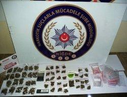 Otomobilde Uyuşturucu ticaretine baskın