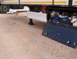 Tır şoförü ölüm molada yakaladı