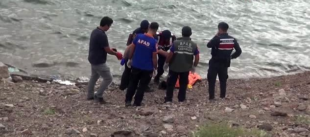 Barajda cesed bulundu