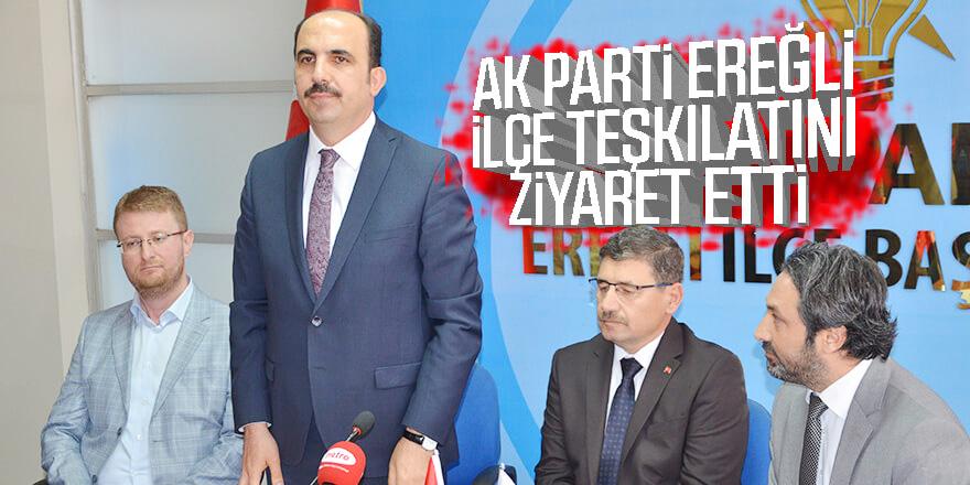 Büyükşehir Belediye Başkanı Altay, AK Parti İlçe Teşkilatını Ziyaret Etti