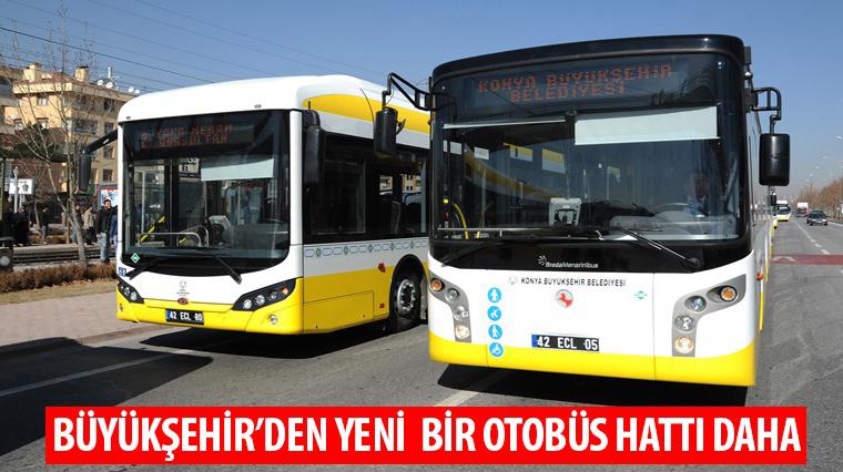 Büyükşehir'den Yeni Otobüs Hattı