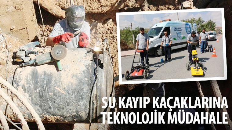 Büyükşehir'den Su Kayıp Kaçaklarına Teknolojik Müdahale