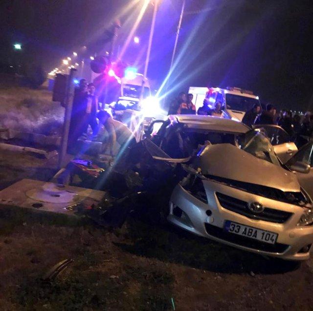 Tren kazası 1 ölü, 2 yaralı