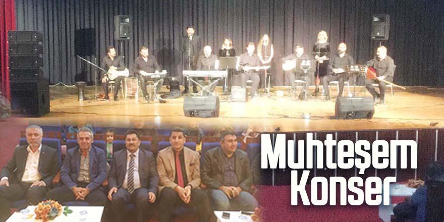Öğretmenlerden muhteşem konser