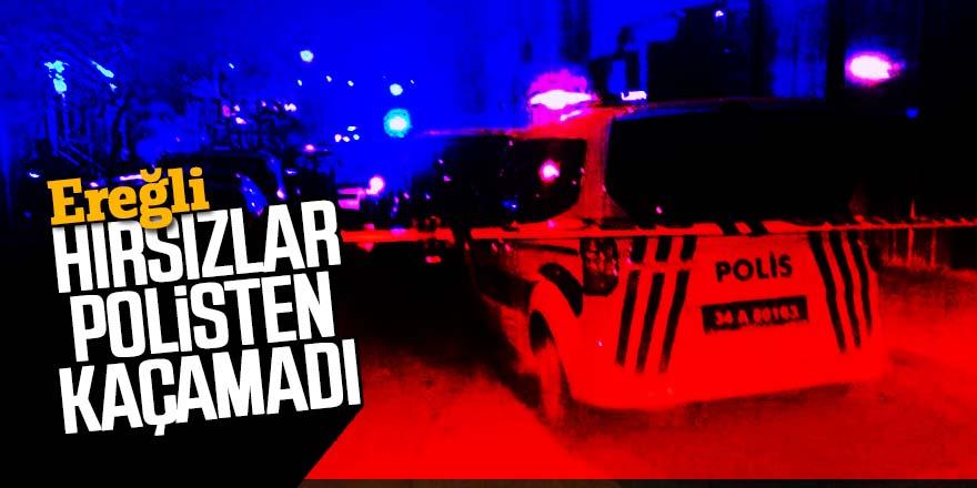 HIRSIZLAR POLİSTEN KAÇAMADI