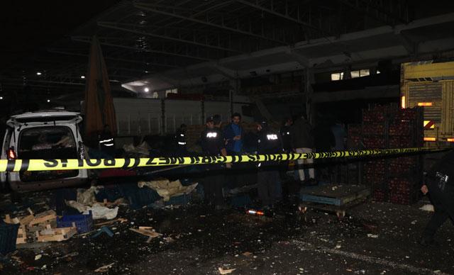 Karpit patlaması 1 ölü, 2 yaralı