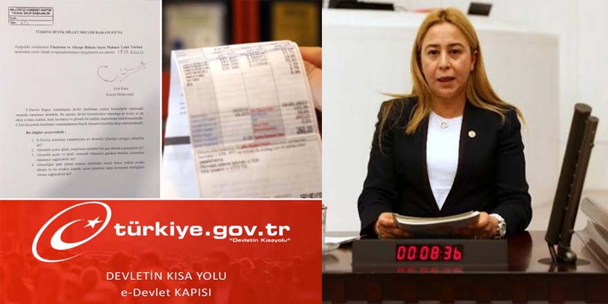 MHP Konya Milletvekili Karadan soru önergesi