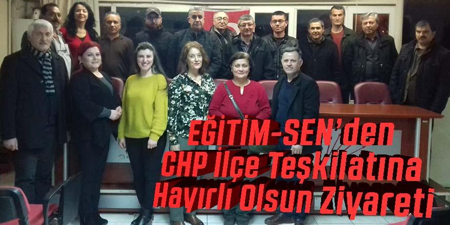EĞİTİM-SEN Ereğli İlçe temsilciliği, CHP Ereğli İlçe Başkanlığı'na hayırlı olsun ziyareti gerçekleştirdi.