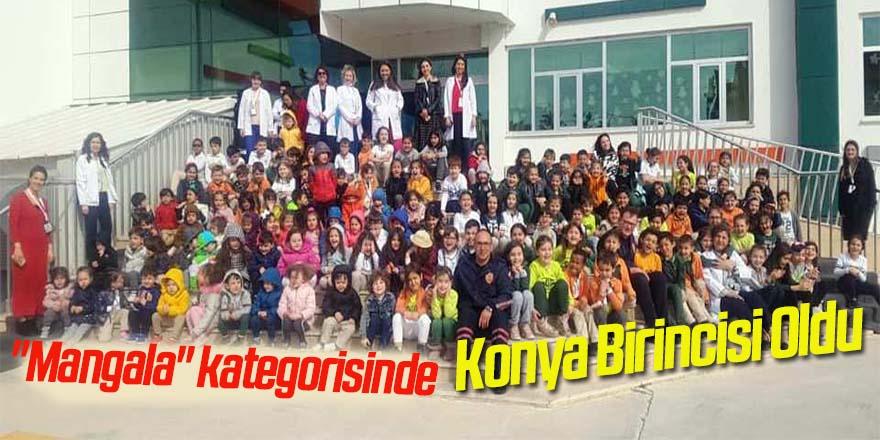 Sarıoğlan İlkokulu Mangala kategorisinde Konya Birincisi Oldu