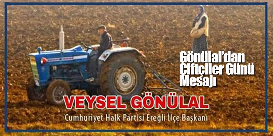 Gönülal'dan Çiftçiler Günü Mesajı