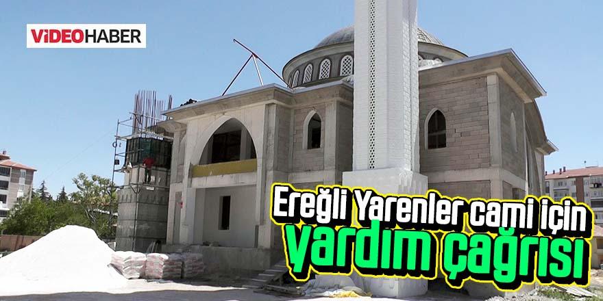 Müftü Malkoçtan yapımı devam eden Yarenler cami için yardım çağrısı