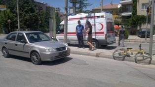 Ereğli'de kaza 1 yaralı