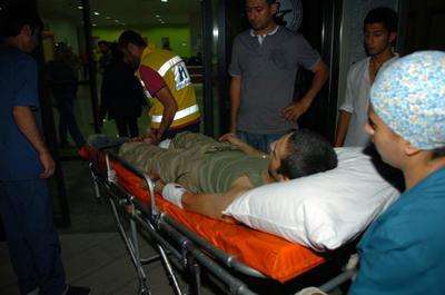 Karakolda patlama; 1 şehit 8 yaralı