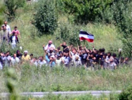 87 Suriyeli Türkiyeye giriş yaptı